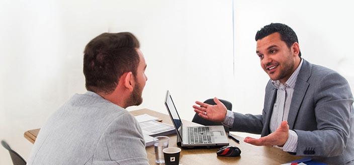 Die KMU Center bieten individuelle Beratung.
